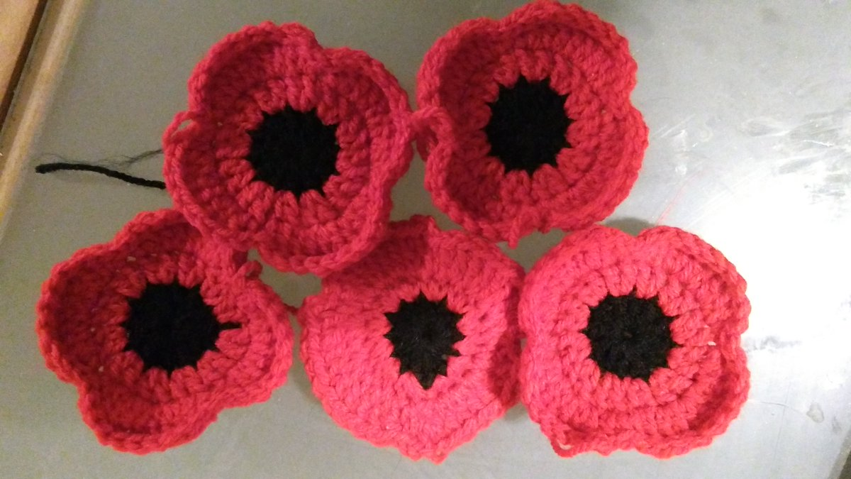 Monmouth poppies monmouthpoppy twitter 5 down 4995 to go can you help us crochet or knit poppies for monmouth poppy knitting crochet knittersofinstagrampicitterdzcp9i47if mightylinksfo