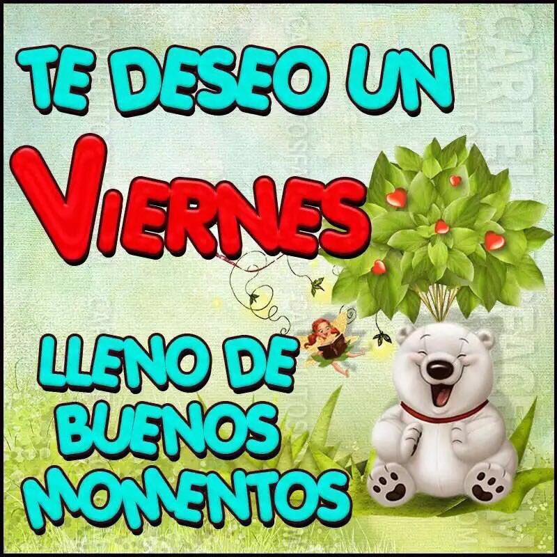 @mhonividente Buenas tardes!! #FelizVier...