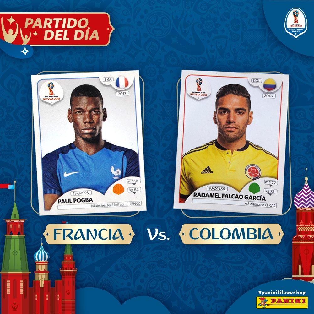Francia de la mano de @paulpogba, busca llegar a punto para el mundial, pero al frente tendrá a la @FCFSeleccionCol de la mano del Tigre @FALCAO. https://t.co/fuEM7V23Hw