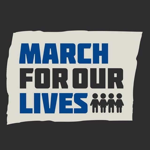 tomorrow is #marchforourlives and it is SO important that we all join in and fight for change. no one should fear for their lives so we need to make sure that these tragic events never. happen. again. 👊 #iwillmarch