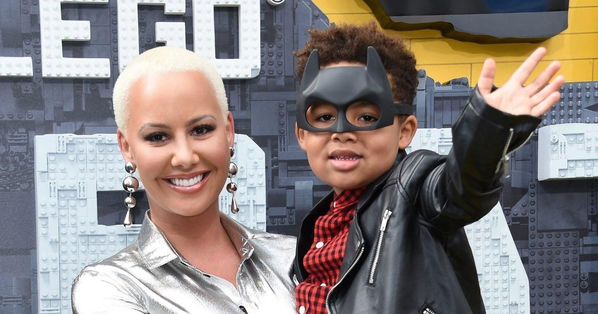 Amber Rose blasts trolls who called her son gay for liking Taylor Swift https://t.co/r7EXgMXt1l