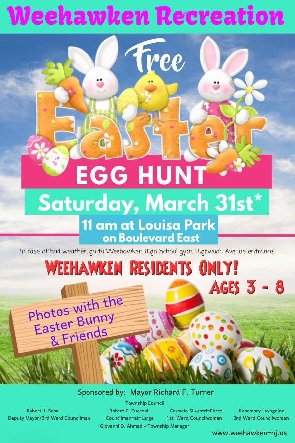 Image result for weehawken easter egg hunt