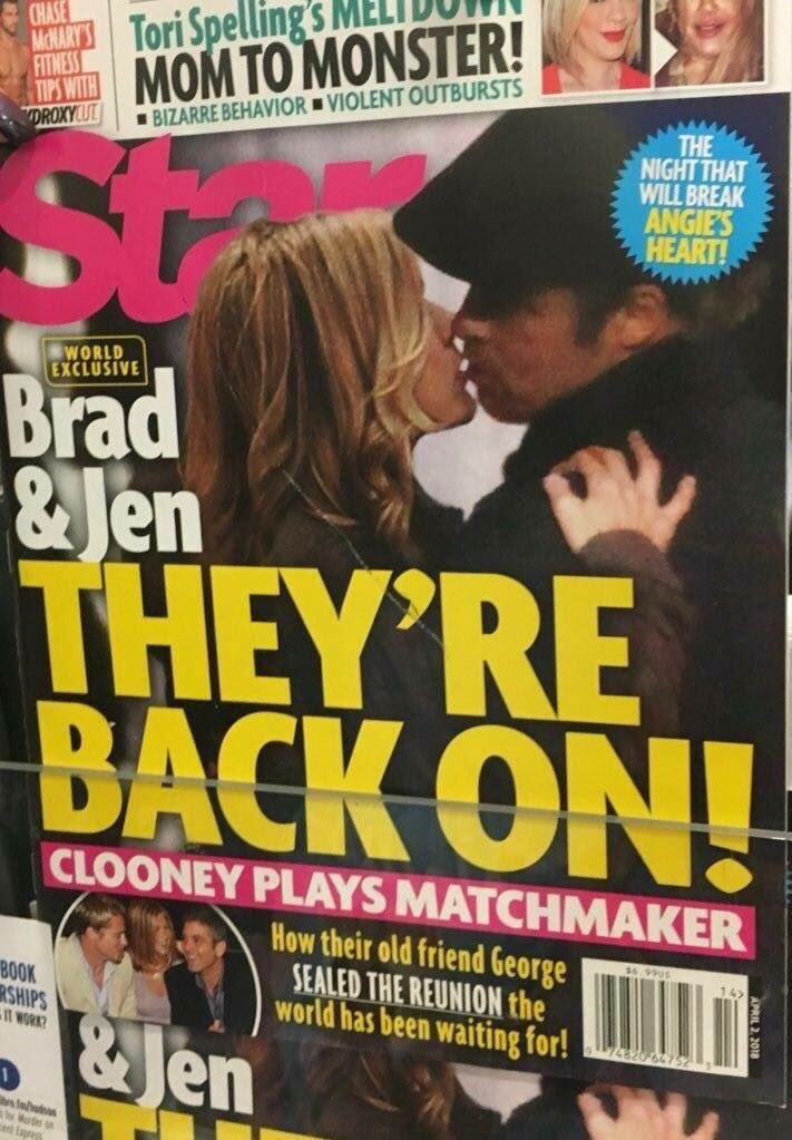 #Brad #Jennifer volvieron .😚😚😚 https://t...