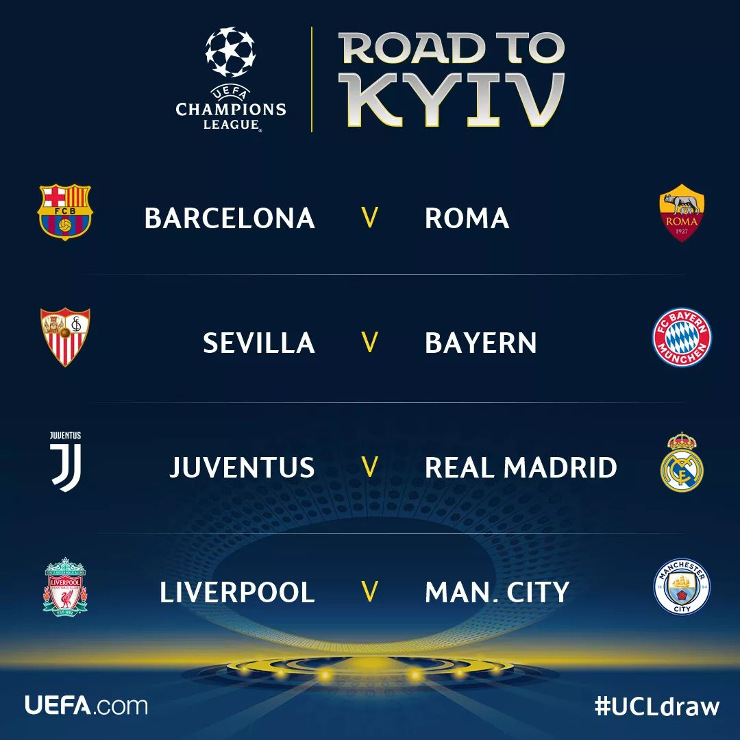 #Ucldraw Latest News Trends Updates Images - clase_mundial