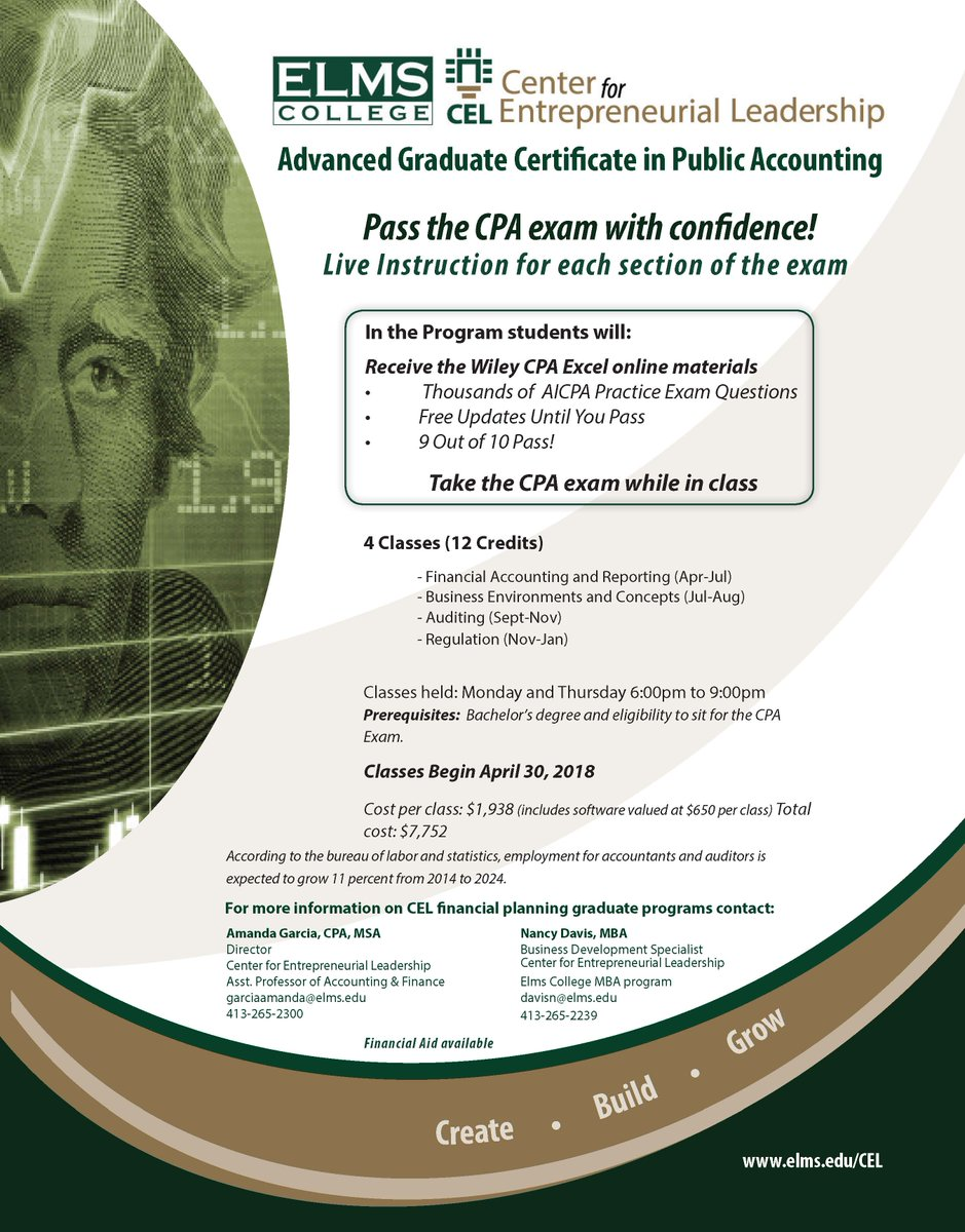 Harry dumay phd elmsprezdumay twitter we had 100 pass rate in our inaugural class of the advanced graduate certificate in public accounting new classes start april 30 2018 registration is 1betcityfo Image collections