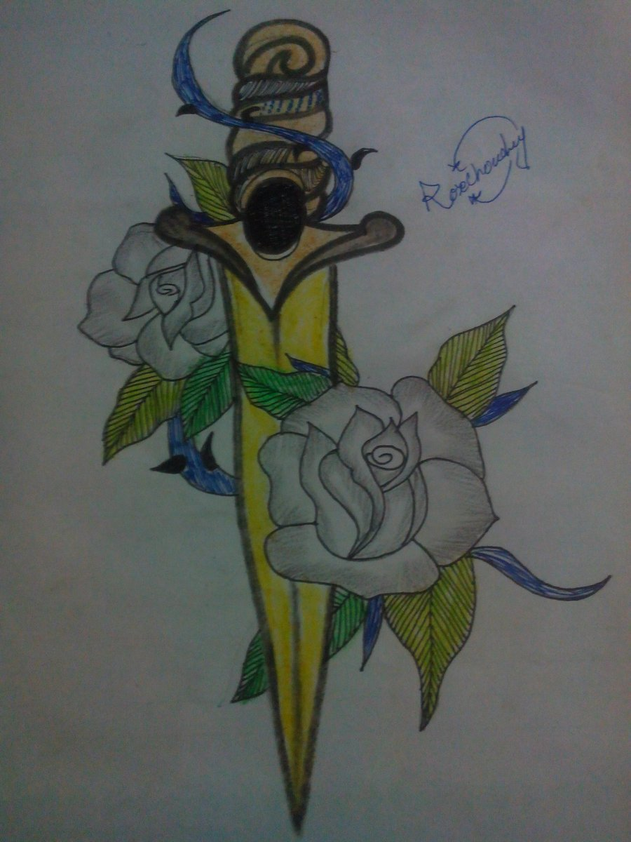 Roses with thrones #Rosedrawing.... pic.twitter.com/u3GVbCWlFi