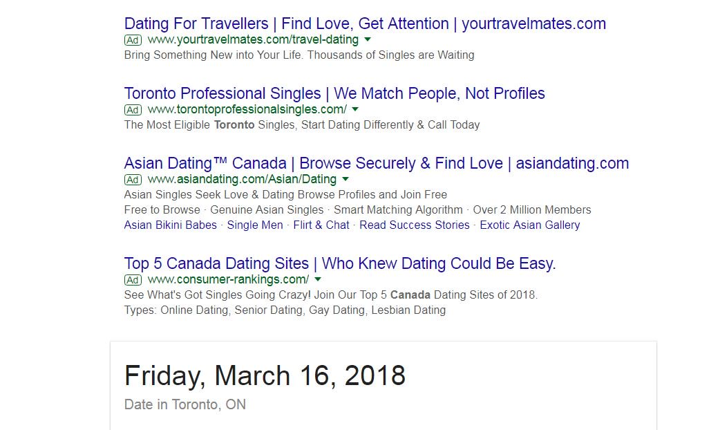 Dating friday ad