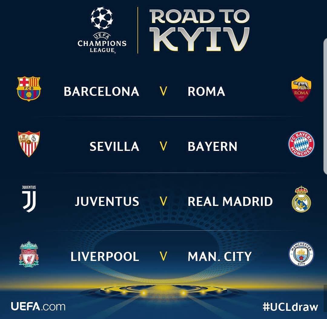 Next stop @SevillaFC. #MiaSanMia #Champi...