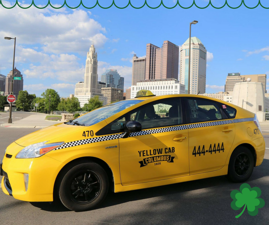 Yellow Cab Columbus >> Yellow Cab Columbus On Twitter Happy St Patrick S Day
