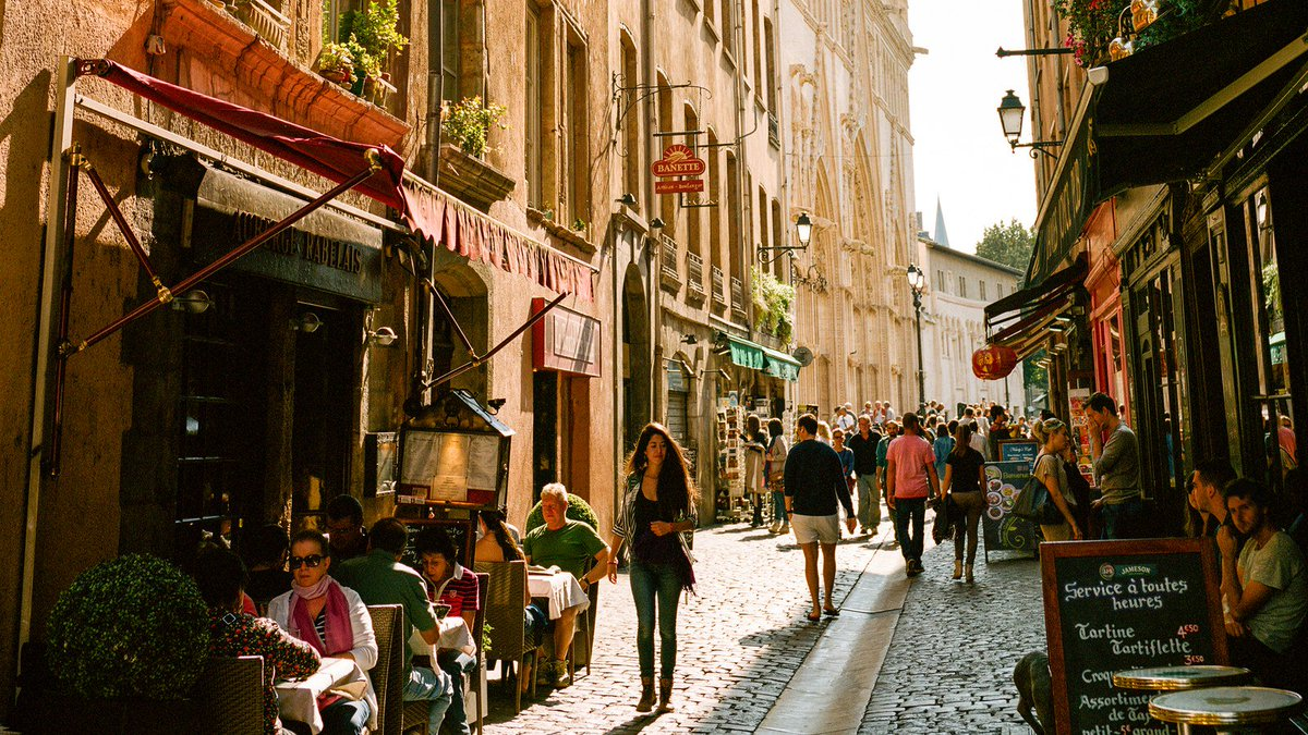 ".@GQMagazine USA celebrates Lyon and its art of living well in an article entitled: 'The real capital of French gastronomy.' Excerpts: '#Lyon is the city to go eat in right now because it's been the city to go eat in for at least 100 years"". https://t.co/ftJDdzrE1i"