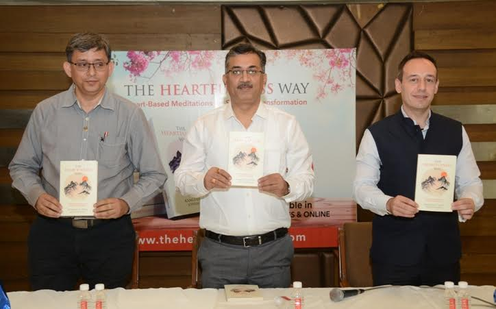 'The Heartfulness Way' book launched in Ahmedabad