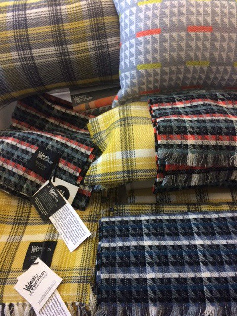 Woven Designs by our New Maker - @WMFabrics #weave #textiles #handmade #madeinwales #shoplocal #roath #cardiff