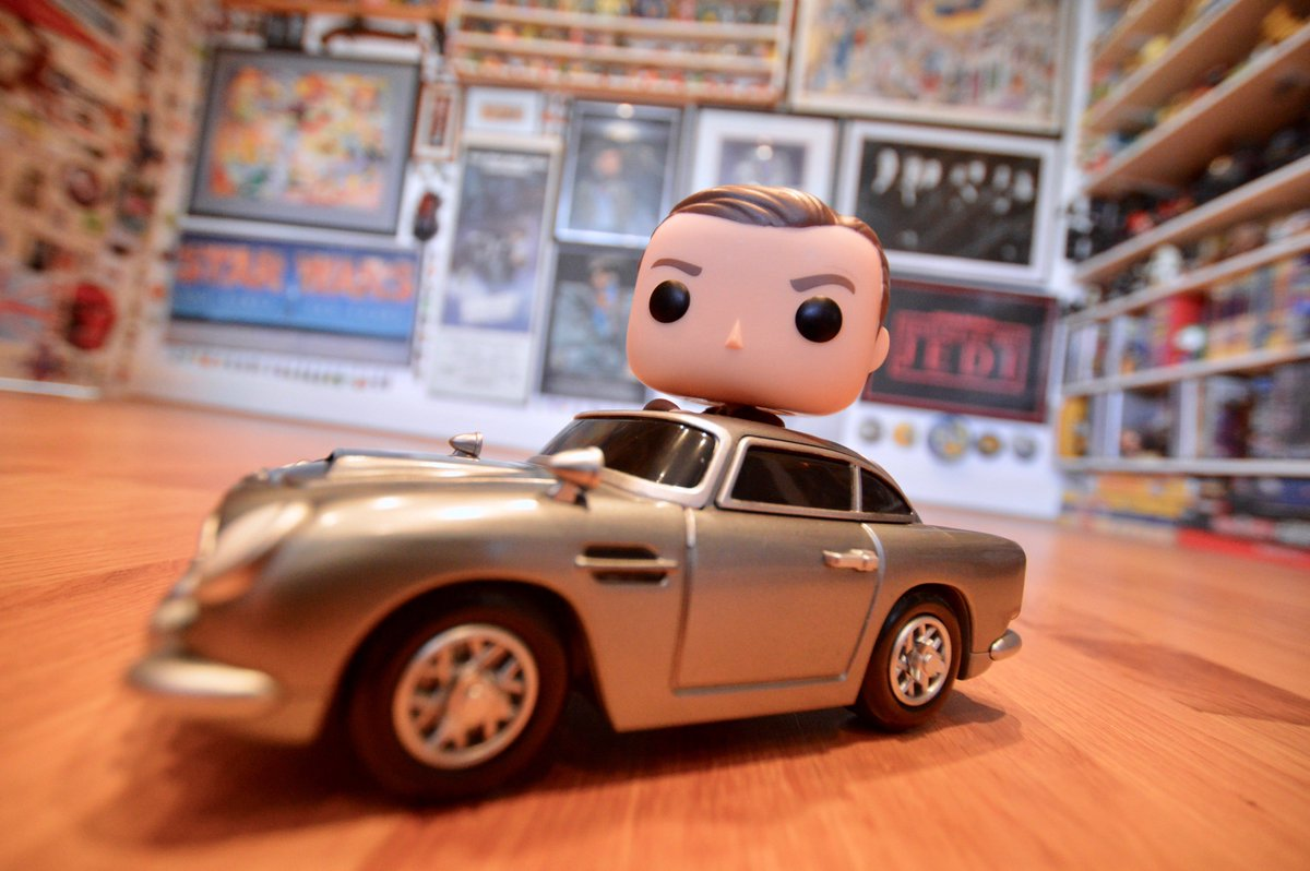 The name's Pop. Funko Pop! #JamesBond #A...