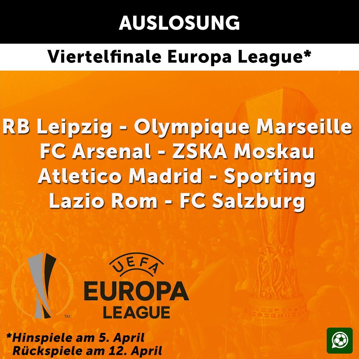 Und die Europa League gleich hinterher!...