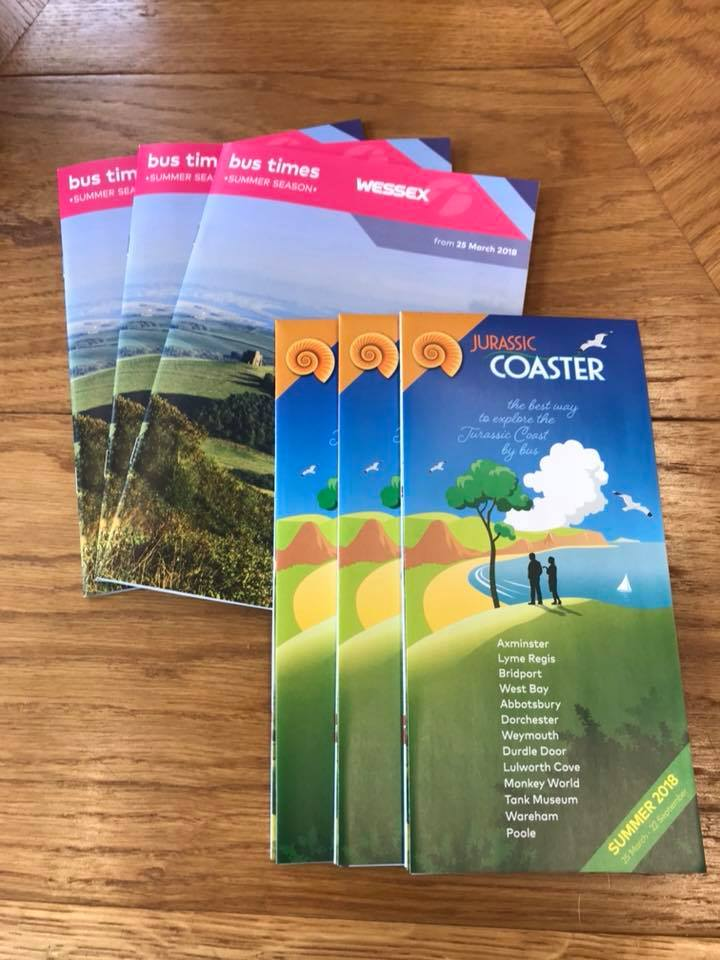 LOOK WHATS ARRIVED!!! First summer timetables from 25th March are now in the office.. 🚌☀️ #First #TravelDorset #BusTimes #Summer