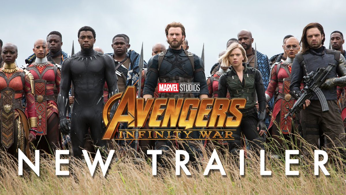 Watch the new Avengers: #InfinityWar tra...