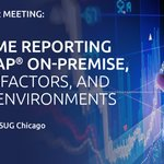 The #ASUG Chicago Chapter meeting is headed your way! Meeting highlights include customer case studies, four tracks of #SAP #S4HANA and networking. #SCM #HCM #GDPR @ASUG_Chicago. Head over to our registration page to book your spot for 21 March: https://t.co/HAunUURSqB