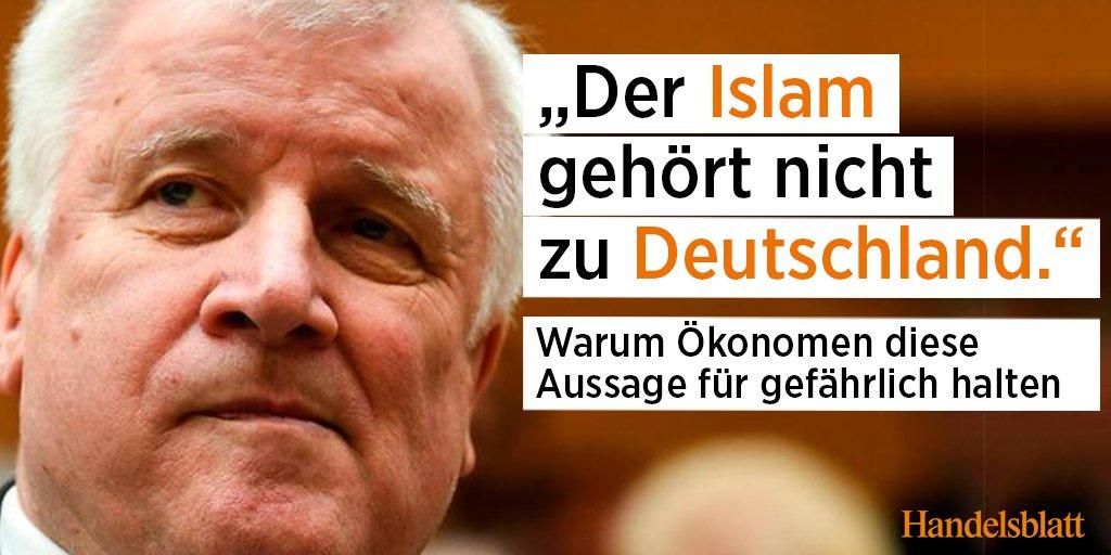 Die Äußerungen von Bundesinnenminister Horst #Seehofer zum #Islam sind auf breite Kritik gestoßen – auch in der Wirtschaft. Mehr dazu: https://t.co/mSvbnvIF6d