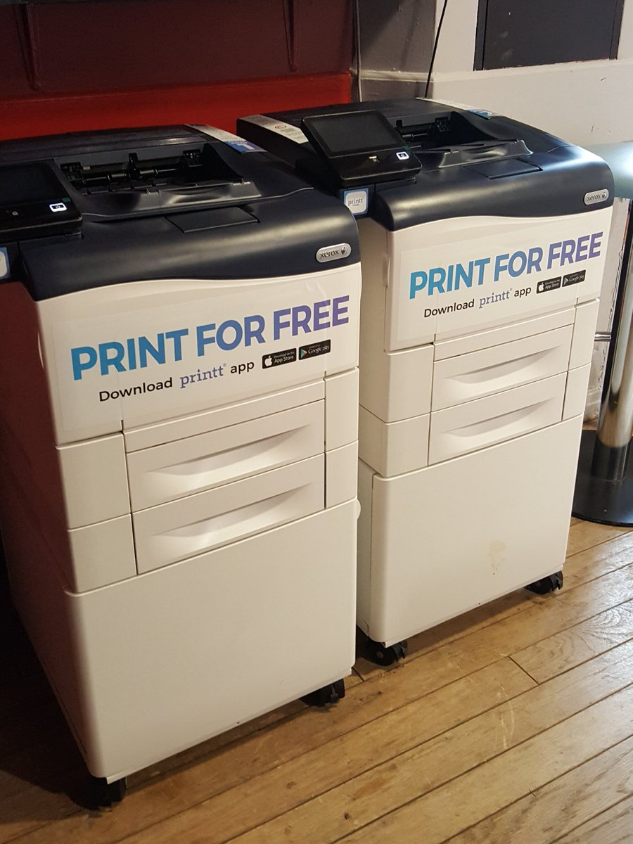 "Hw student union on twitter: ""we now have free printing in."