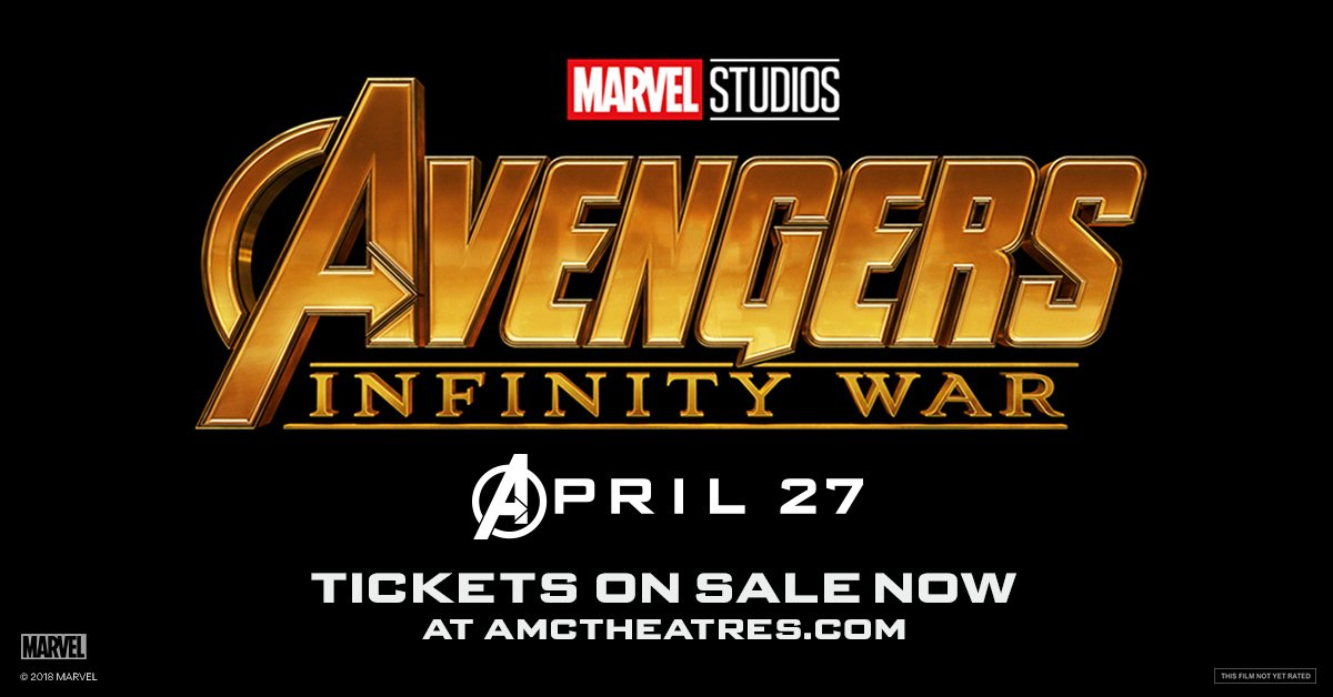 An entire universe once and for all. Tickets for Marvel Studios #Avengers #InfinityWar are NOW ON SALE!   Get tix now: amc.film/2tSsTGK
