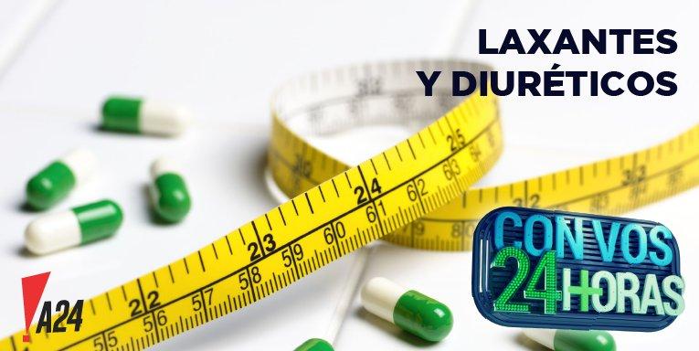 bajar de peso con laxantes y diureticos
