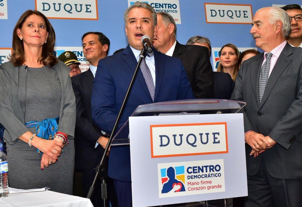 #Noticias Iván Duque y Marta Lucía Ramír...