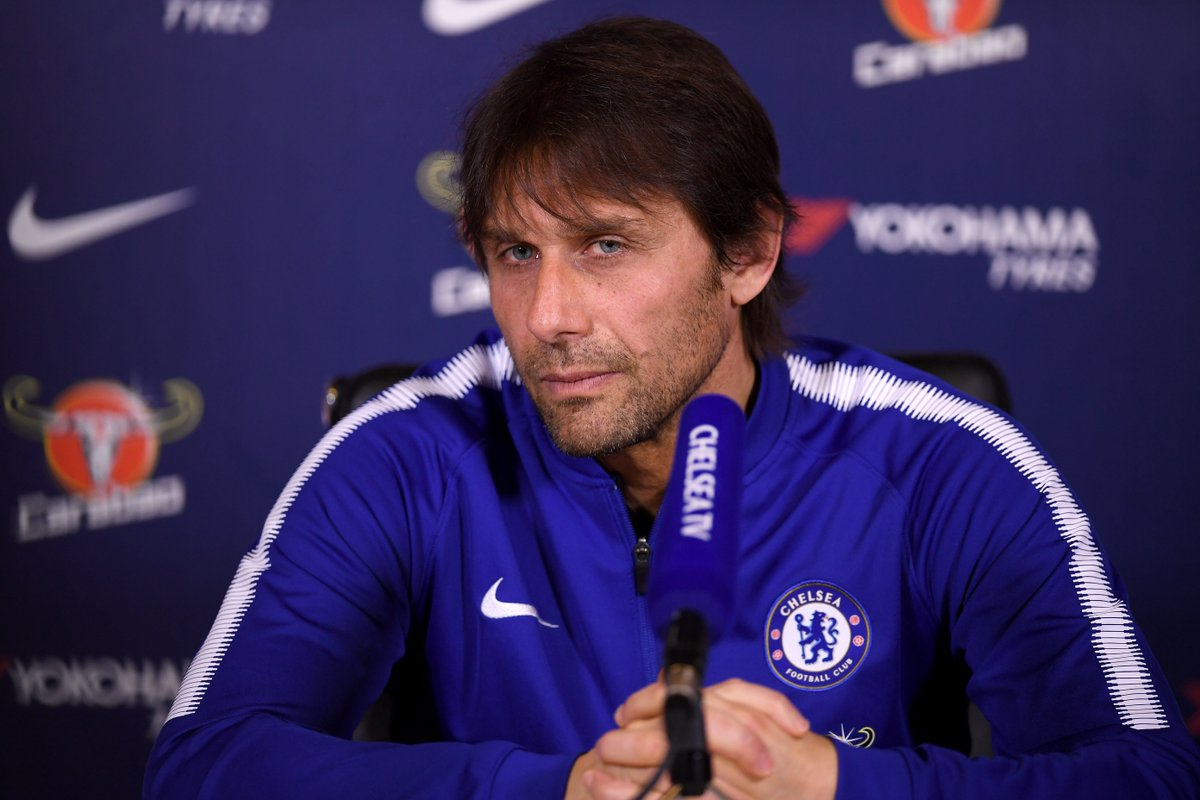 Antonio Conte will be live very shortly as we look ahead to Sunday's FA Cup tie!  Stay tuned...