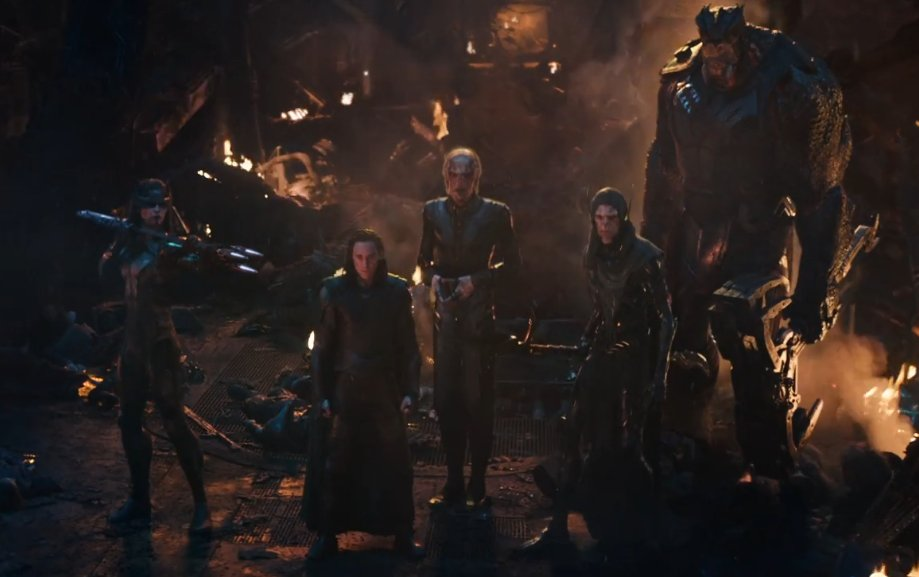 Loki e a Ordem Negra - Vingadores: Guerra Infinita