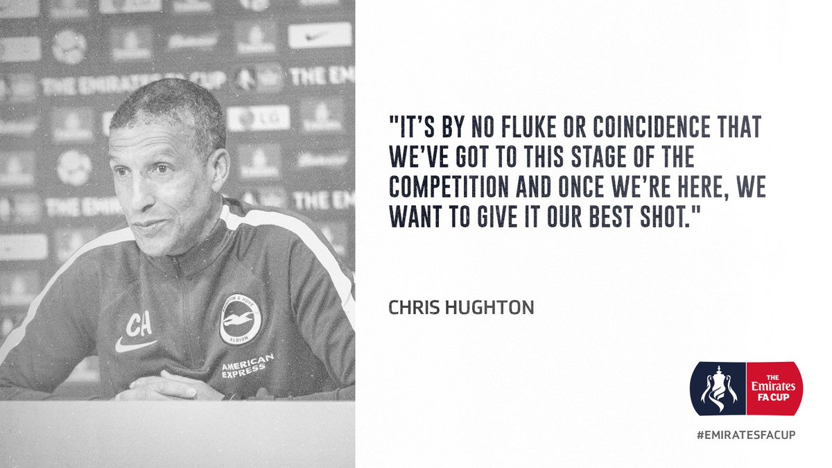 💬 The manager ahead of tomorrow...  #BHA...