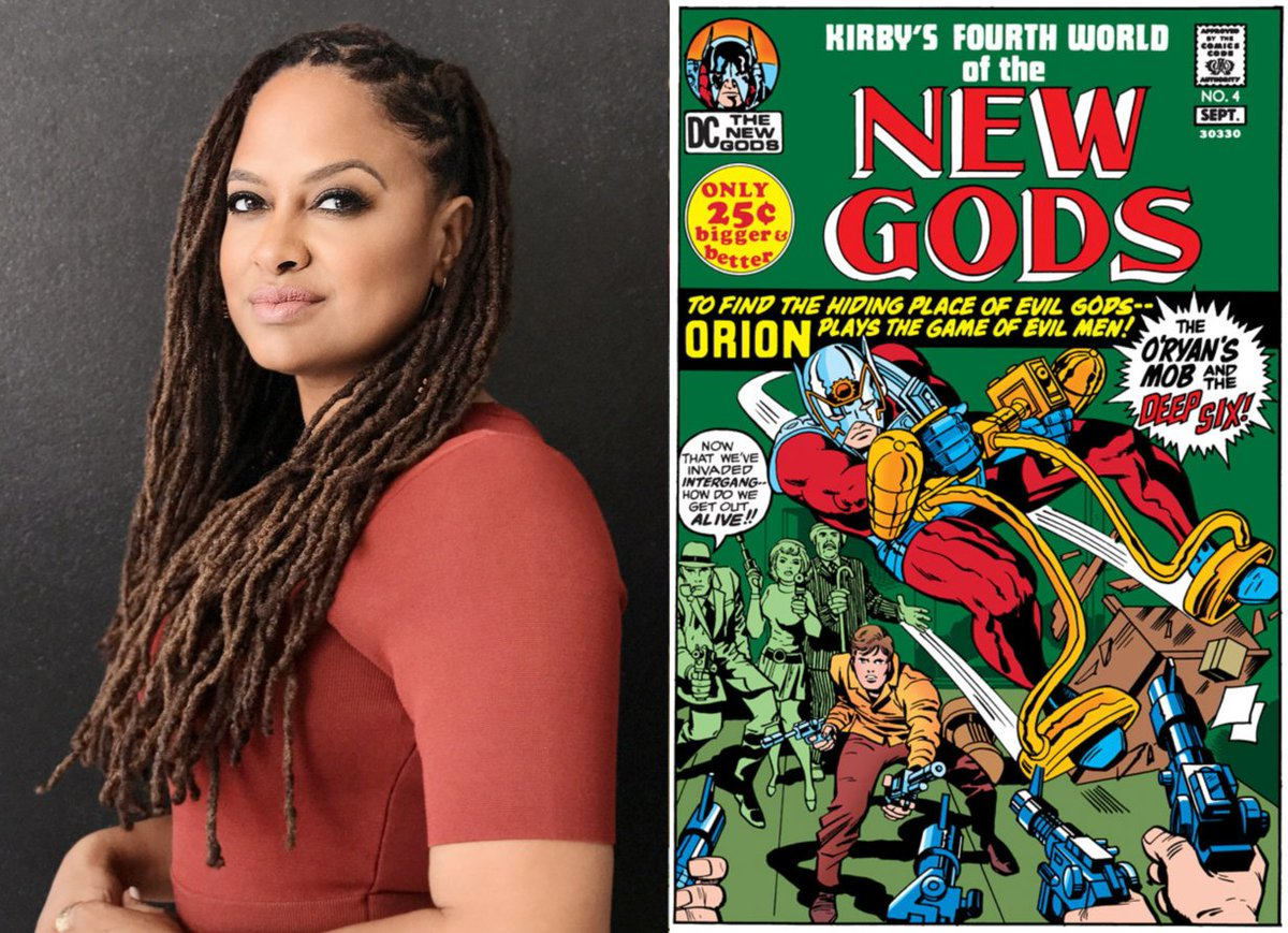 Huge things: @Ava DuVernay to direct DC Comics movie #TheNewGods, which will be her second $100M+ budget film buff.ly/2Iu4874