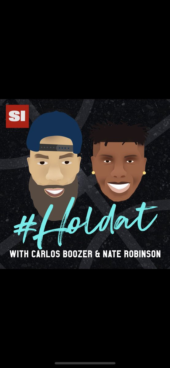 Tune In To Our HOLDAT Podcast As Me and @nate_robinson Talk March Madness, NBA, and Life As A Rookie In The League... Subscribe Now On Apple Podcasts Or Wherever You Get Your Podcast... #HOLDAT