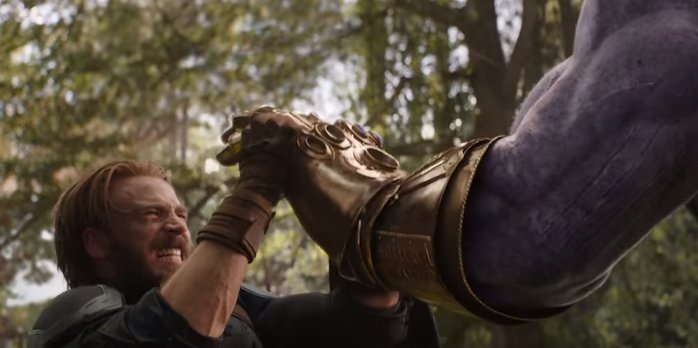 This moment in the new #Avengers Infinit...