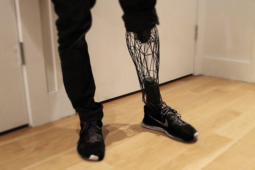 3Dプリンターが登場してからというもの、義足のデザインの進化が凄いことになってる...