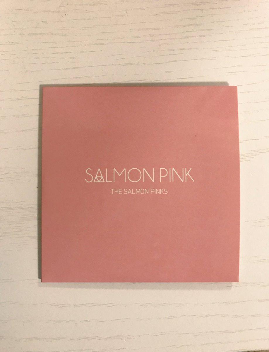 セブ アオヤギ on twitter the salmon pinksの 自己紹介の3曲 是非