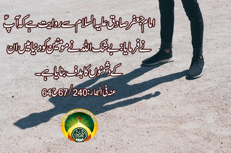 Saying of Ahlaybait a.s. Try to understa...
