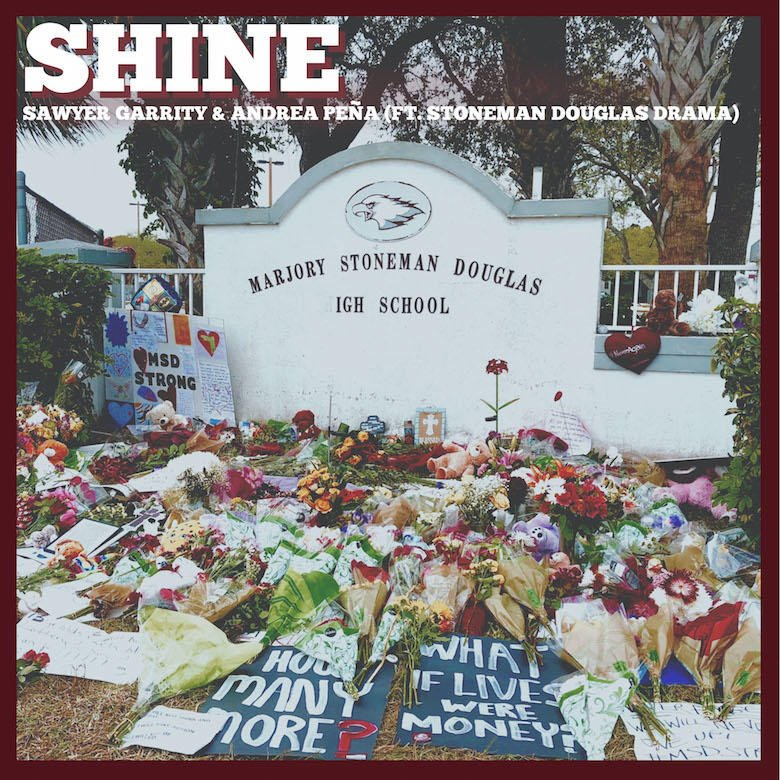 The students of Stoneman Douglas High School share a powerful message of change, unity + healing in their new song, 'Shine': https://t.co/nzOPLbIsAB