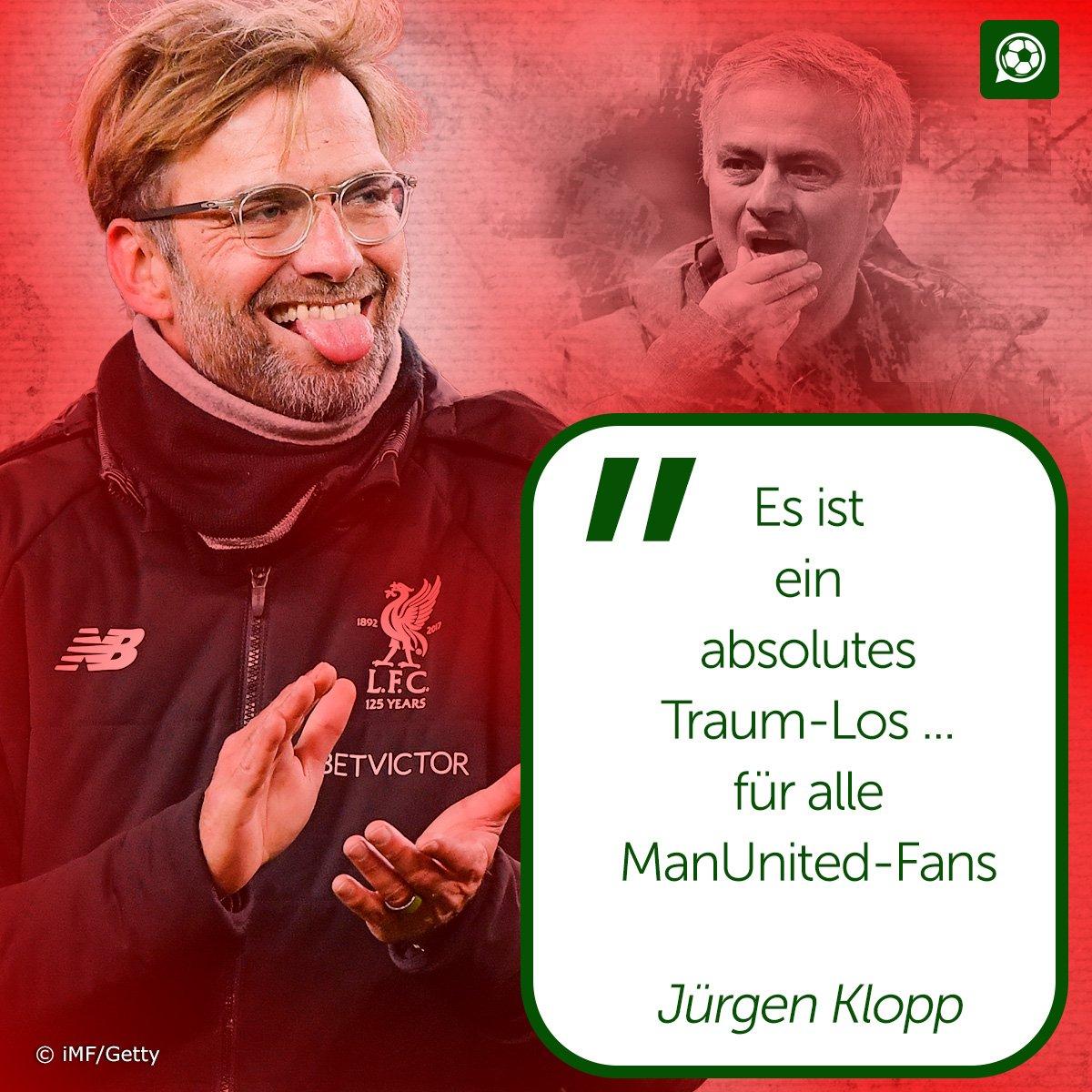 Jürgen Klopp konnte einfach nicht anders...