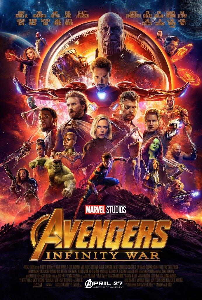 Check out this new Infinity War poster!...