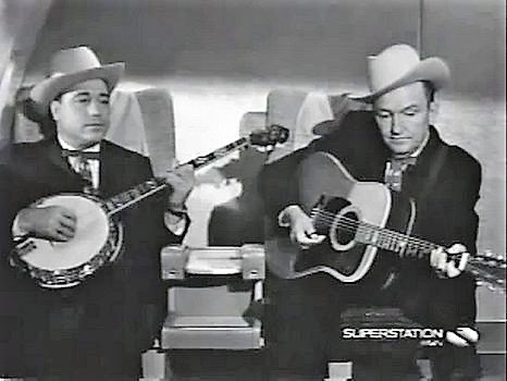 "#Bluegrass musicians #LesterFlatt and #EarlScruggs guest starred on #TheBeverlyHillbillies in the season 4 episode ""Flatt and Scruggs Return"" airing this date in 1966.<br>http://pic.twitter.com/lcbzqb8J3p"