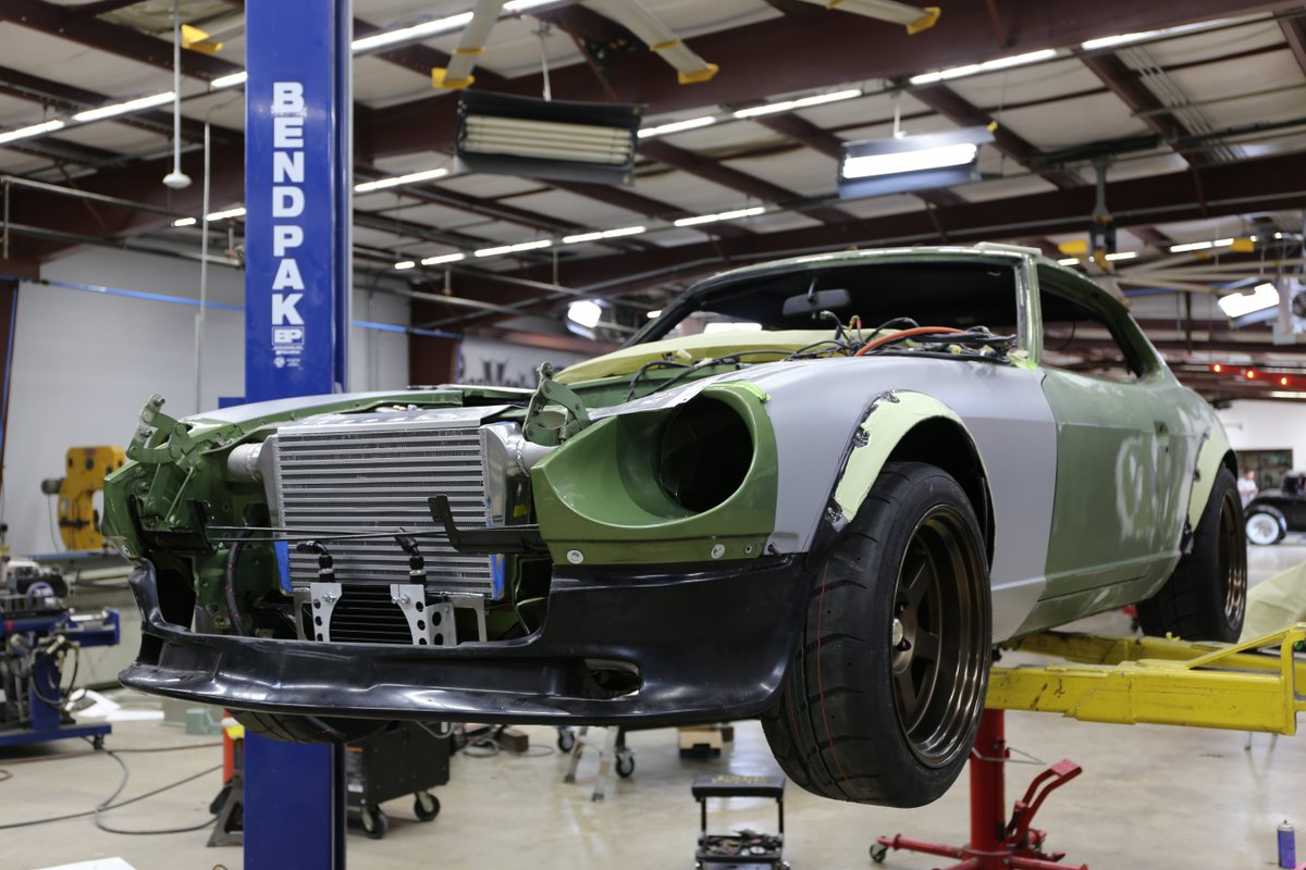 gas monkey garage on twitter the fair lady is mocked up and