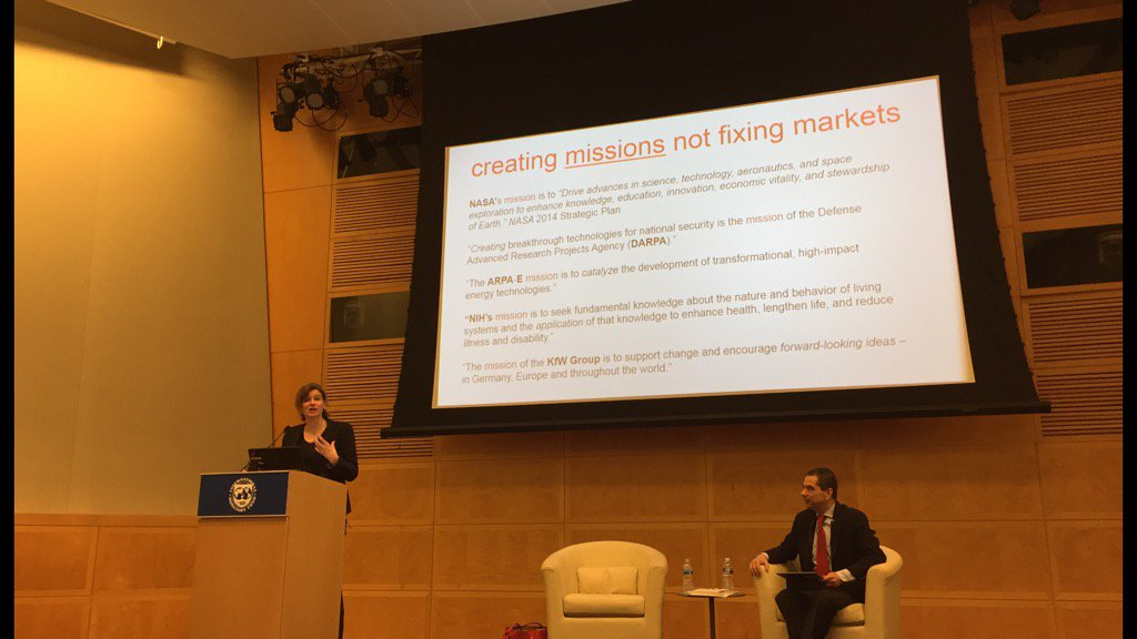 test Twitter Media - My talk to IMF: 'Fixing' markets didn't get us IT revolution & won't get us green one. Co-creating & shaping markets! https://t.co/gVPwbSxyEh