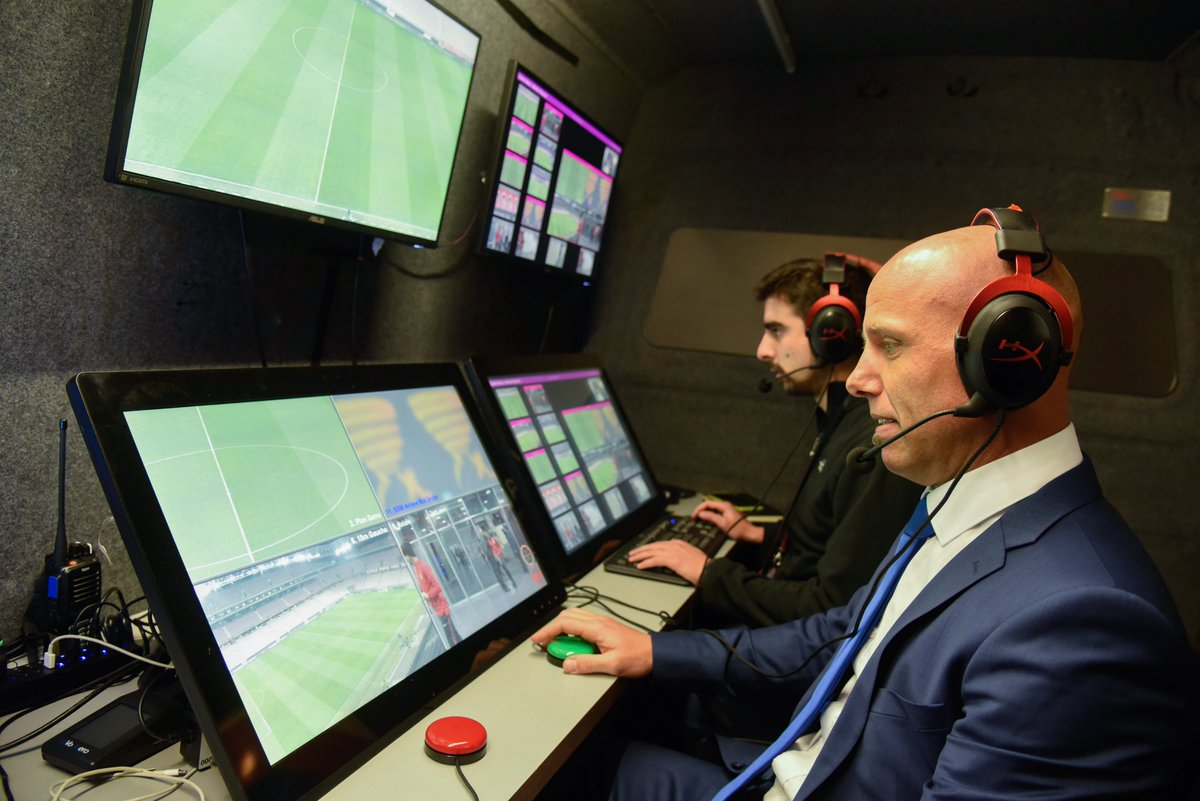 Video assistant referees will be used at...