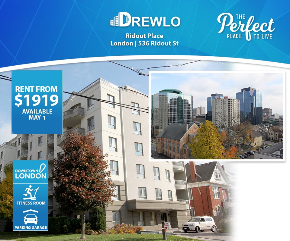 Call 519 675 1327 Rental Drewloholdings S Apartments For Rent Ridout Place London Getdtl Ldnont Londonontario