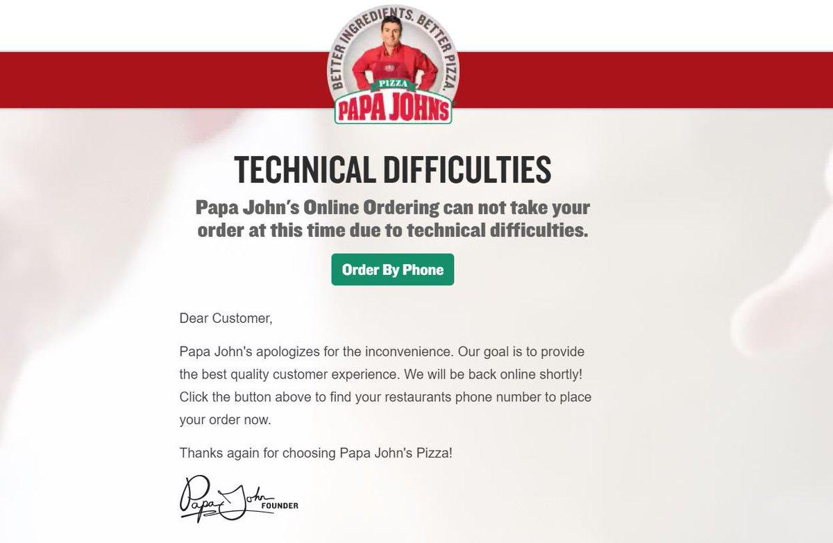 Papa John\'s Pizza on Twitter: \