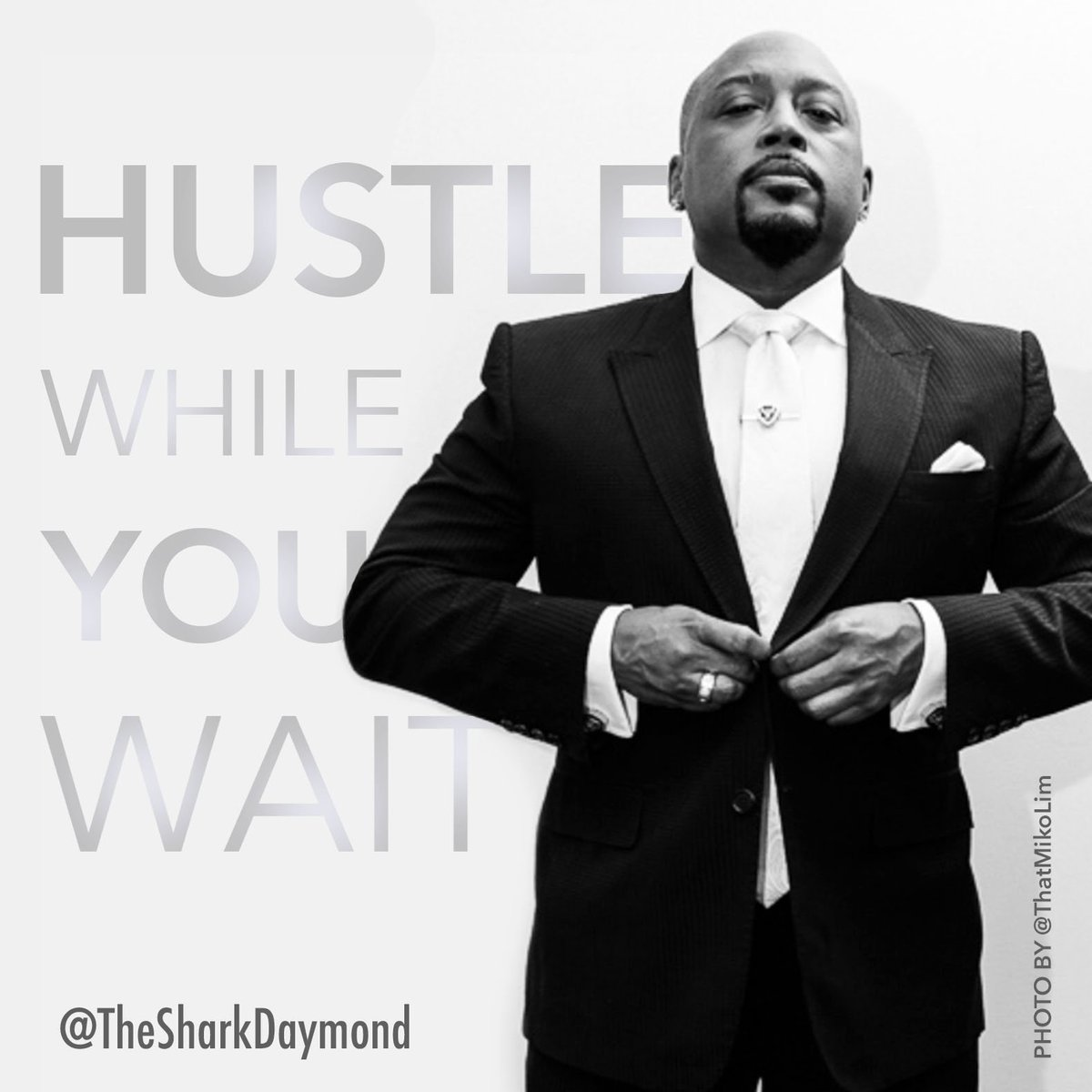 Do you want to win? Hustle While You Wait.