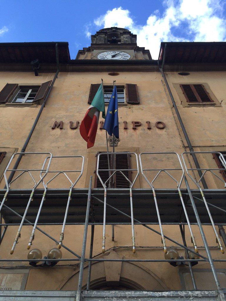 Al via i lavori a #Castelfiorentino grazie al #BandoPeriferie! Si inizia dai #restauri di #Municipio e #Biblioteca  - Ukustom