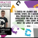 Image for the Tweet beginning: 🤓 Our youth ambassador Tayla