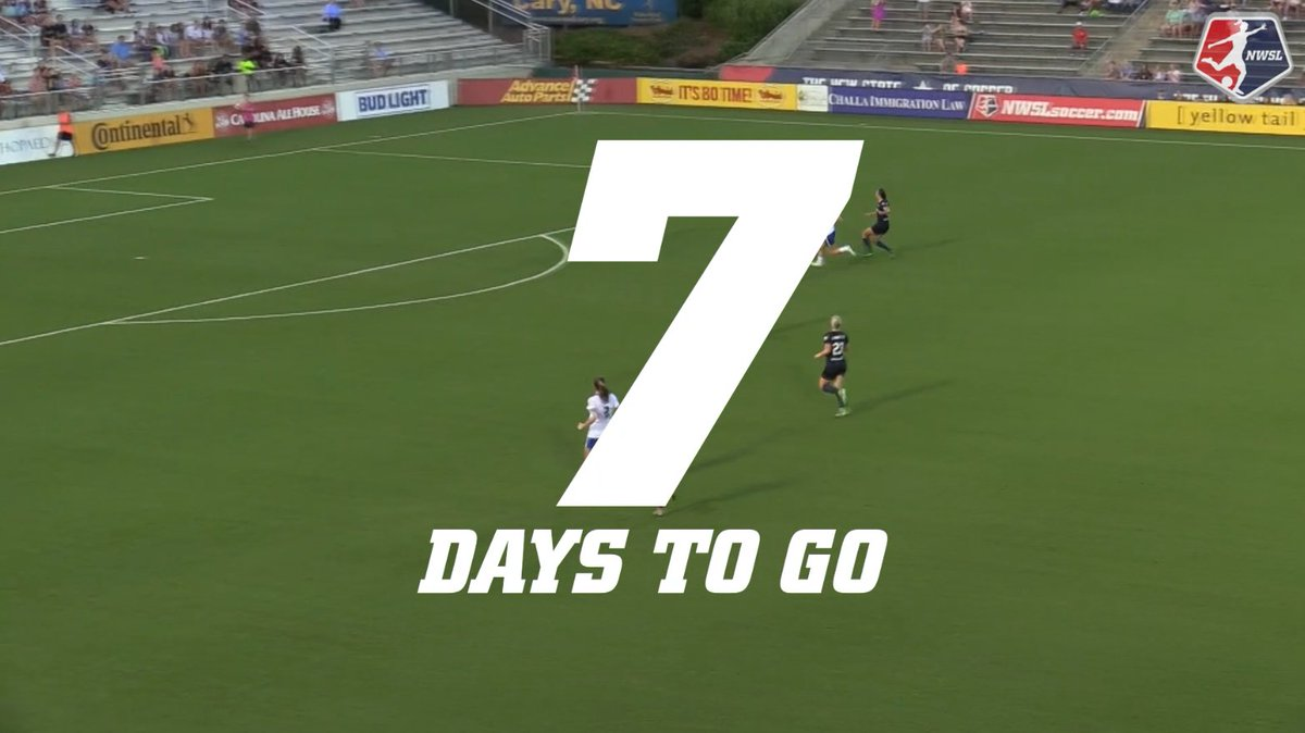 We're exactly one week away from the fir...