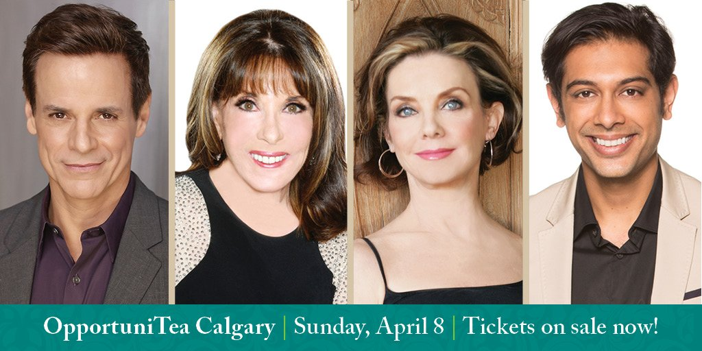 Three weeks, 2 days to #OTeaCAL18 - run, dont walk to get your tickets before they are gone, gone, gone. You dont want an empty tea cup do you? Tickets to the 4/8 Calgary tea with @KATELINDER @modcanada @CJLeBlanc @AbhiDabi @real_jchapman here: bit.ly/OTeaC18
