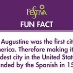 St. Augustine was the first city in America. Therefore making it the oldest city in the United States, founded by the Spanish in 1565. #FunFactFriday #FridayFun @VISITFLORIDA #timeshare #vacationownership #vacation #travel